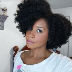 Toni from my Natural Sistas rocking a twist out