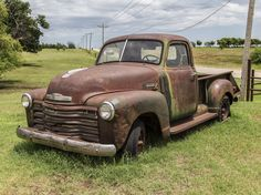 https://flic.kr/p/uhkgQN | Rusted Chevy Pickup | Found this Chevy pickup near Piedmont, Oklahoma.