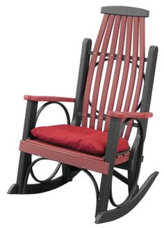 Poly Lawn Furniture :: Rockers :: Grandpa's Rocker - Products | Yoder Woodcrafters