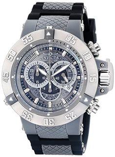 Invicta Men's 0927 Anatomic Subaqua Collection Chronograph Watch Invicta http://www.amazon.com/dp/B005FMYUEA/ref=cm_sw_r_pi_dp_EoEsub134MDVB