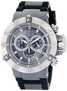 Invicta Men's 0927 Anatomic Subaqua Collection Chronograph Watch Invicta http://www.amazon.com/dp/B005FMYUEA/ref=cm_sw_r_pi_dp_EoEsub134MDVB