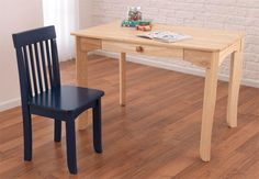 KidKraft Avalon Table - Natural - Create Your Own Set - Activity Tables at Hayneedle Live And Learn, Desk Chair, Office Desk, Dining Bench, Create Your Own, Furniture, Activity Tables, Baby Rooms, Home Decor