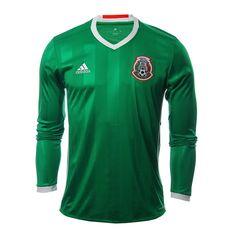 Demuestra que el color verde lo llevas en la sangre con el nuevo jersey  Adidas México Local 2016. Justo a tiempo para la Copa América Centenario c995afe0e971e