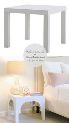 Totally Ingenious, Ridiculously Stylish IKEA Hacks 10 Totally Ingenius, Ridiculously Stylish IKEA Hacks // Live Simply by Totally Ingenius, Ridiculously Stylish IKEA Hacks // Live Simply by Annie Ikea Side Table, Ikea Lack Table, Lack Table Hack, Ikea Lack Hack, Hack Hack, Ikea Furniture Hacks, Furniture Makeover, Furniture Stores, Room Decor For Teen Girls