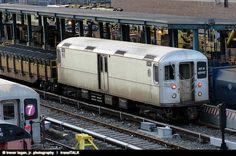 (New York MTA) 1994-96 Kawasaki R-134 Refuse Motor Car #EP011, via Flickr.