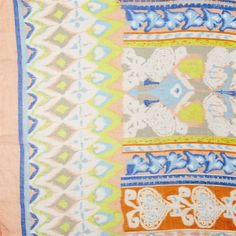 Aztec Ikat and Borders Scarf - Clever Girl
