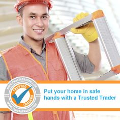 You wouldn't just let anyone into your home, right?  That's why it's shocking that over half of homeowners don't check their trader's credentials.  All of our members must provide proof of qualifications and membership of trade associations before joining.   Put your home in a safe pair of hands - use one of our Trusted Traders. www.trustatrader.com
