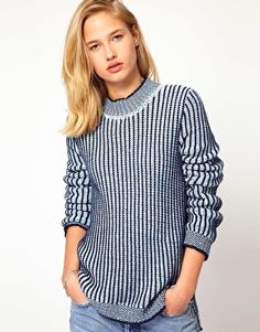 Mih Jeans Ribbed Sweater