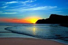 Sonnenuntergang an der Küste von #Nicaragua.