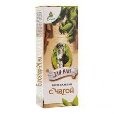 Cream - Balsam mit Tschaga, 75ml  Wirkstoffe: Tschaga Extrakt, Vitamin-Komplex, Sanddornöl und Teebaum, biologisch aktive Bestandteile von Bienenwachs. Die Creme beschleunigt die Regenerationsprozesse. Unter den Bestandteile wurden im Tschaga-...