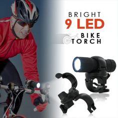 CyberTech New Bicycle LED Front Handlebar Headlight