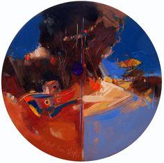 Anonymous - 20 by Bulent Yavuz Yilmaz. Painting, Oil on Canvas, Size: 40 cm x 40 cm. Browse Artworks of Bulent Yavuz Yilmaz at Gallerymak.com |  İsimsiz - 20 by Bülent Yavuz Yılmaz. Resim, Tuval üzerine Yağlı Boya, Ebat: 40 cm x 40 cm. Bülent Yavuz Yılmaz'ın eserlerini Gallerymak.com ile keşfedin. | #worldofart #proartists #arte #artsy #contemporary #art #artwork #oiloncanvas #oilpainting #artgallery #resim #colorful #renk #painting #resim