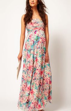 Cute Maxi Dresses | cute maternity dresses ASOS Maternity Exclusive Maxi Dress In Floral ...