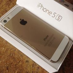 Gold iPhone5s