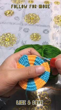 Crochet Backpack Pattern, Beginner Knitting Patterns, Crochet Stitches For Beginners, Crochet Lace Edging, Crochet Flower Tutorial, Crochet Square Patterns, Crochet Instructions, Crochet Stitches Patterns, Crochet Fish
