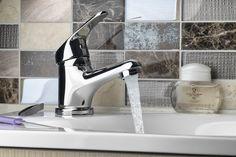 AQUALINE 35 stojánková umyvadlová baterie, bez výpusti, chrom : SAPHO E-shop Water Faucet, Faucets, Sink, Decor, Taps, Sink Tops, Griffins, Vessel Sink, Decoration