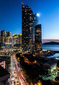 Busan una ciudad muy linda, de mi ciudad preferia. Corea del Sur