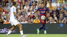Picture: Neymar during the game #fcblive [fcb]