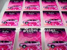 Limousine Rosa - Brindes e Lembrancinhas: Espelho Limousine Rosa