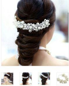 Mooi haarsieraad voor een bruid
