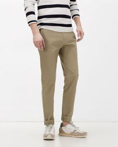 Image 4 of COTTON TROUSERS from Zara
