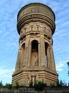Château d'eau, Valenciennes. Water tower.