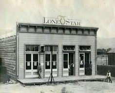 Lone Star Newspaper in El Paso, Texas circa 1884