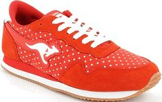 KangaRoos Invader Dots női cipő Kangaroos, Dots, Pumps, Sneakers, Fashion, Stitches, Tennis, Moda, Slippers