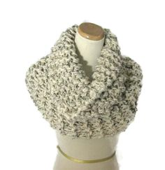 Sale Outlander Inspired Cowl Chunky Cowl  by ArlenesBoutique