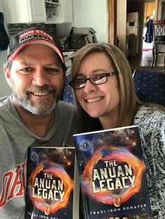 Jonathan and Angie with #TheAnuanLegacy in Beavercreek, Ohio!