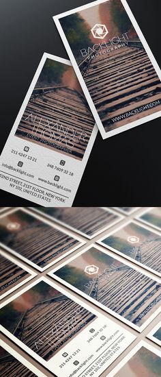 Photographer Business Card #businesscards #businesscardesign #printready #psdtemplates