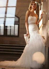 Trumpet style- david bridal