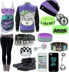 Emo Outfits   Via Lexie Castillo