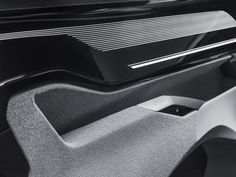 Peugeot Instinct Concept Interior detail door panel from the gallery: Automotive Interiors - Materials and Trims