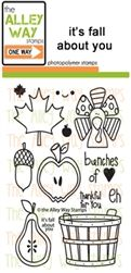 i'ts fall about you TAWS, The Alley Way Stamps, Clear Stamps, handmade cards