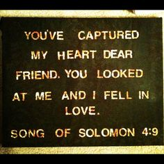 DIY Song of Solomon Canvas with fabric and spray paint
