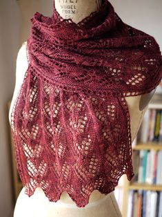 This is my current project, but I'm knitting it in blue.