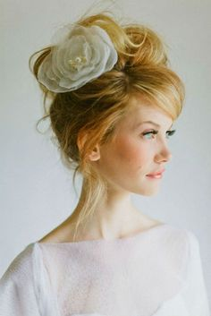 Flowers in the hair ~Inspired by Batiste's Original Dry Shampoo~ www.batistehair.com. #hairdo #original #classic