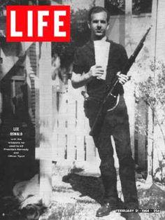 Life Magazine Cover Copyright 1964 Lee Harvey Oswald - Mad Men Art: The Vintage Advertisement Art Collection Life Magazine, Issue Magazine, History Magazine, Magazine Covers, Old Magazines, Vintage Magazines, Vintage Ads, Life Cover, Photo Essay