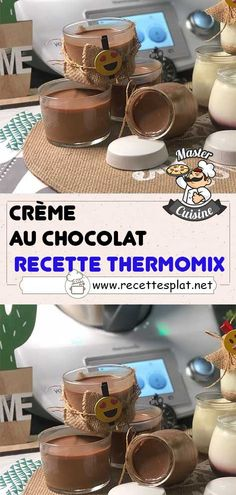 Thermomix Desserts, V60 Coffee, Macarons, Robot, Chocolate Cream, Cooking Food, Custard, Recipes, Macaroons