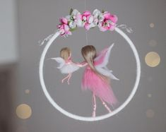 Fairy Crafts, Doll Crafts, Christmas Crafts For Adults, Crafts For Kids, Felt Fairy, Fairy Figurines, Flower Fairies, Fairy Dolls, Felt Dolls