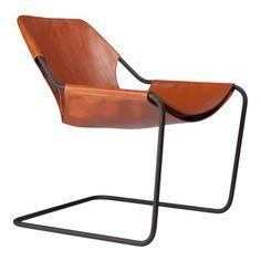 Paulistano Läder Fåtölj | Objekto | Länna Möbler | Handla online