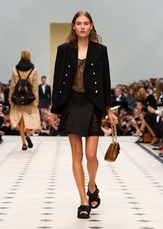 See the Awesome Burberry Collection That Debuted on Snapchat via @WhoWhatWear