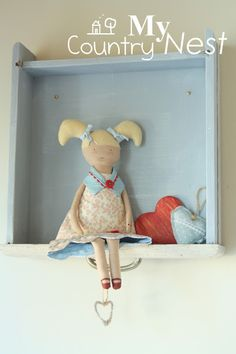 My country nest: cute dolls