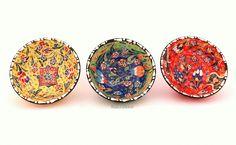Keramikschale-Emotion-12cm-3Set von Kult-Deko auf DaWanda.com