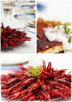 August means Crayfish via Lyckoslanten