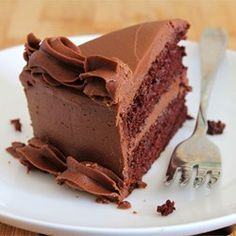 One Bowl Chocolate Cake III Recipe - This is a rich and moist chocolate cake. It only takes a few minutes to prepare the batter. Frost with your favorite chocolate frosting.