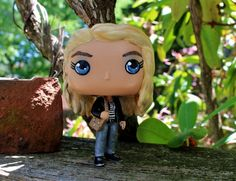 "Custom Funko Pop of Claire Novak played by Kathryn Newton from the TV show ""Supernatural"". Claire is mostly a repaint but I added pants using Apox. Funko Pop Supernatural, Supernatural Fans, Pop Custom, Custom Funko Pop, Madison Mclaughlin, Kim Rhodes, Claire Novak, Princess Zelda, Disney Princess"