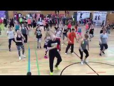 Aerobic zum Aerobic zum Abnehmen mit moderner Tanzmusik mit moderner Tanzmusik
