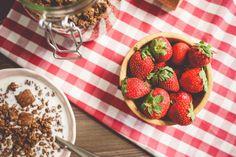 Free Image: Fresh Strawberries Breakfast | Download more on picjumbo.com!